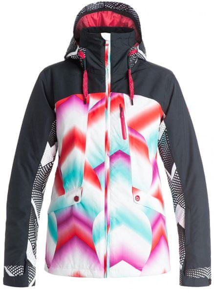 Roxy Wildlife J Snowboardjacket Pop Snow Ocean Spray Granatina S