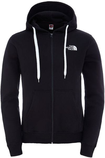 The North Face M Open Gate Full Zip Hd Tnf Blac/Tnf Wh XXL