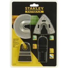 Stanley 4dílný set pro oscilační nářadí STA26160-XJ