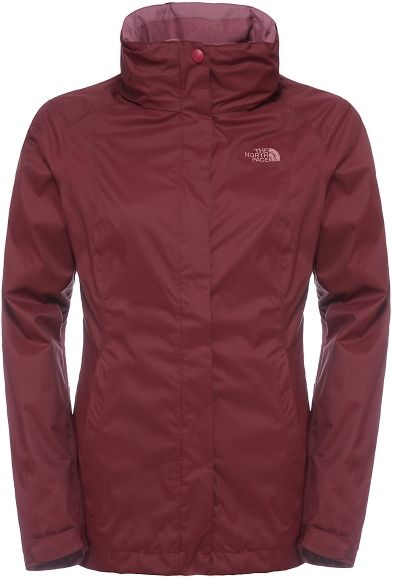 The North Face W Evolve II Triclimate Jacket Deep Garnet Red S