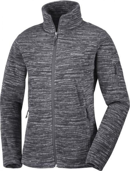 Columbia Fast Trek Printed Jkt Black Strata XL