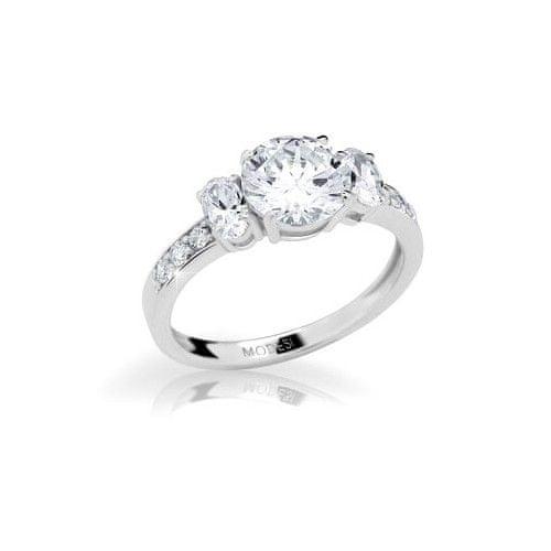 Modesi Zásnubní prsten JA17250CZ 58 mm stříbro 925/1000