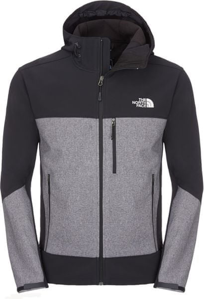 The North Face M Apex Bionic Hoodie tnf black/tnf black heather XXL