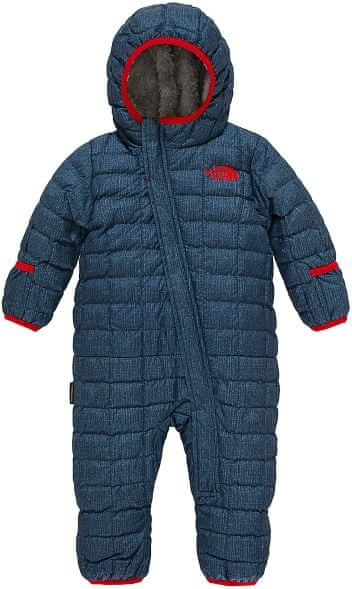 The North Face Infant Thermoball Bunting Cosmic blue denim print 3M