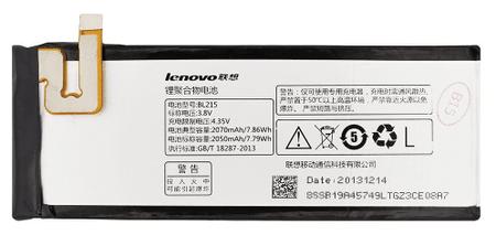 Lenovo baterie, BL215, 2050mAh, Li-Ion, BULK
