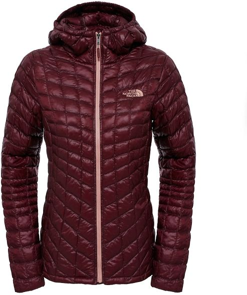 The North Face W Thermoball Hoodie Deep Garnet Red XL