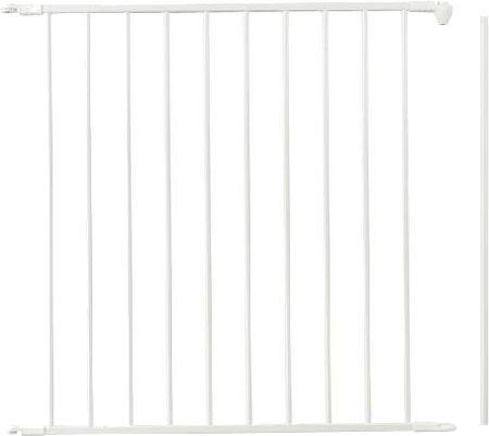 BabyDan Rozszerzenie dla barier przestrzennych 72 cm  białe