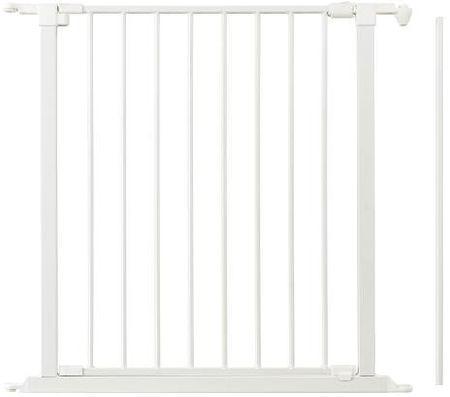 BabyDan vrata za varnostno ograjo Flex 72 cm, bela