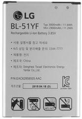 LG BL-51YF Mobil akkumulátor, 3000mAh, Li-Ion