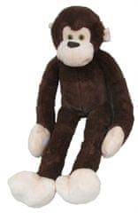 Mac Toys Plyšová opice tmavě hnědá 100 cm
