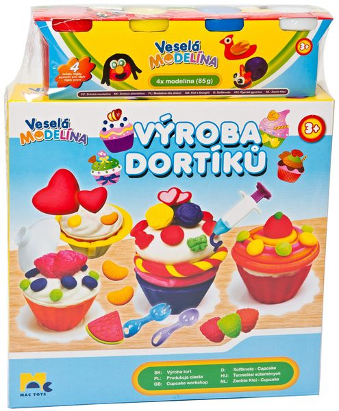 Mac Toys Modelína Výroba dortíků