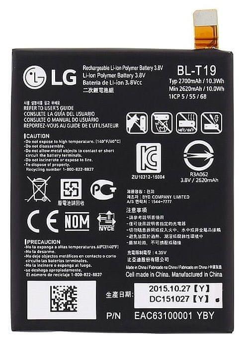 LG baterie BL-T19 2700mAh Li-Pol(Bulk) 28157