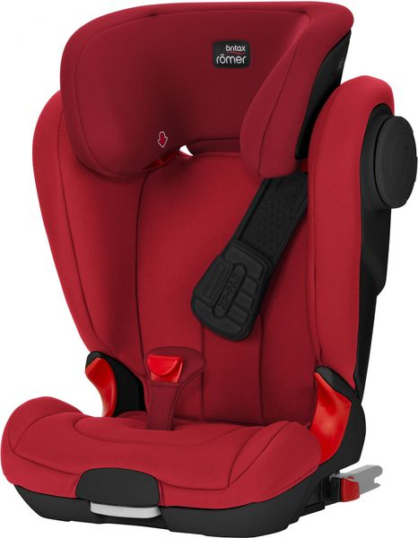 Römer KIDFIX II XP SICT Black 2017, Flame Red