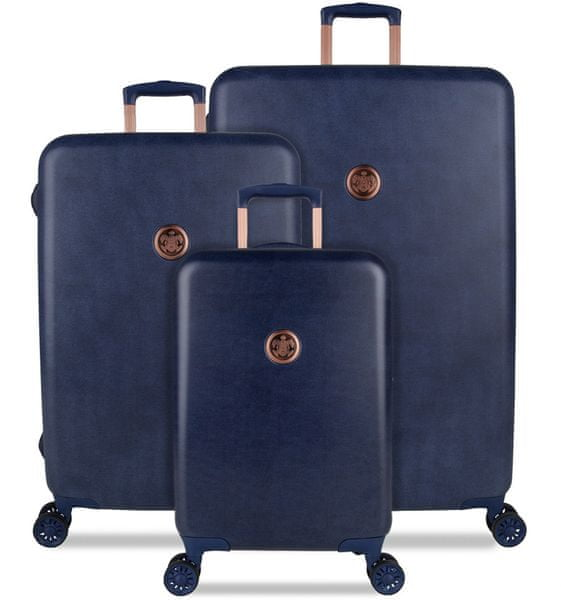 SuitSuit Sada cestovních kufrů Raw Denim