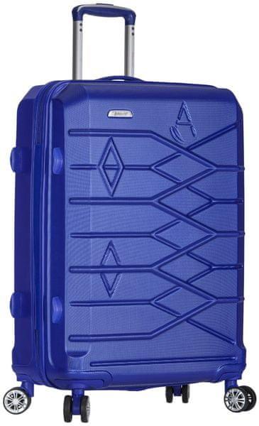 REAbags Aerolite Cestovní kufr T-315/3 M modrá
