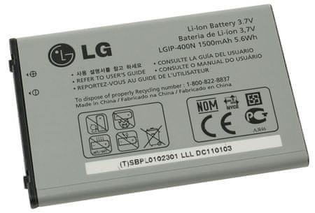 LG baterie, LGIP-400N, 1500mAh, Li-Ion, BULK