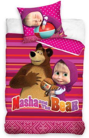 Carbotex Dětské povlečení Máša a Medvěd