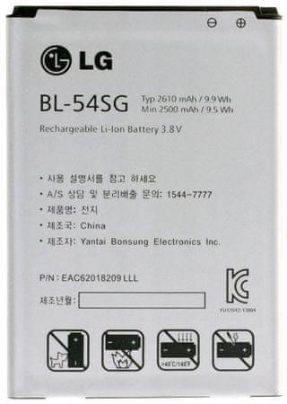 LG BL-54SG Akkumulátor, 2610mAh