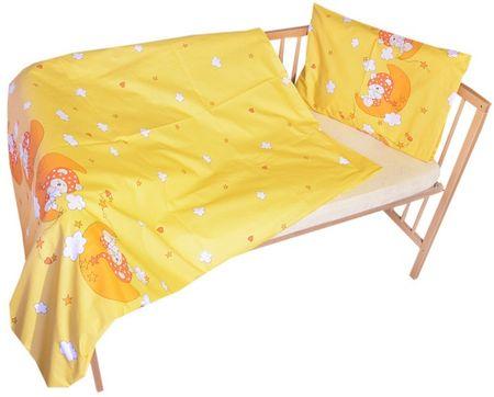 COSING otroška posteljnina, 100 x 135 cm, Medvedek na luni