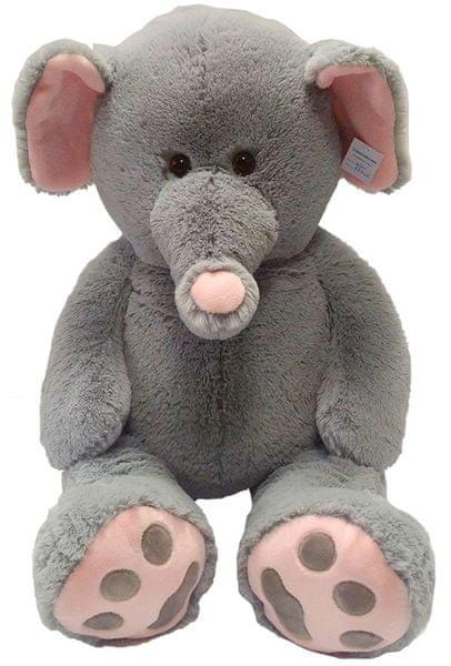 Mac Toys Plyšový slon 100 cm