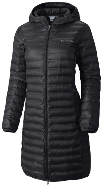 Columbia Flash Forward Long Down Jacket Black S