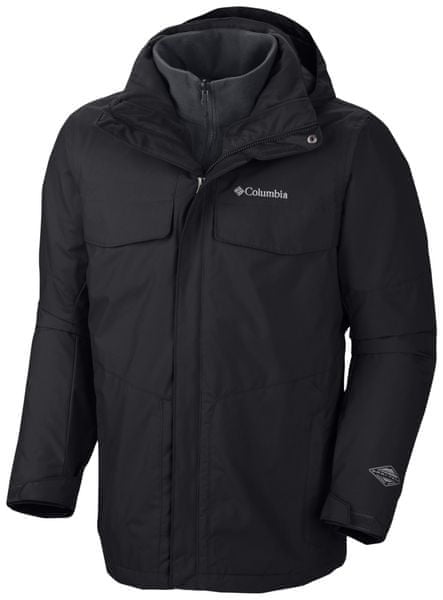 Columbia Bugaboo Interchange Jacket Black XL - II. jakost