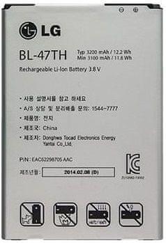 LG baterie, BL-47TH, 3200mAh, Li-Ion, BULK
