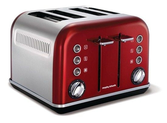 Morphy Richards topinkovač Accents Red 4S