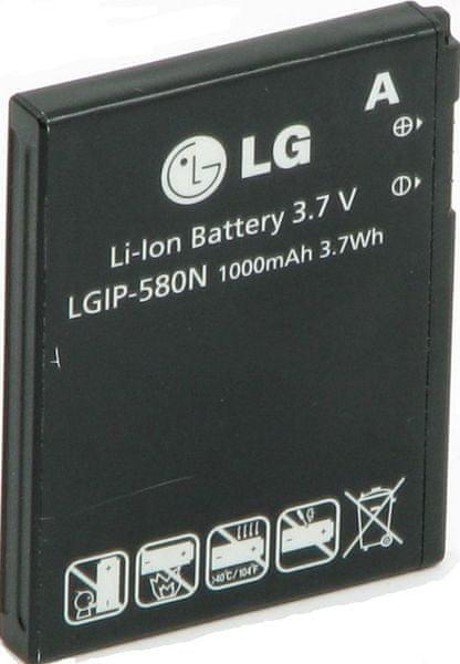 LG baterie, LGIP-580N, 1000mAh, Li-Ion, BULK