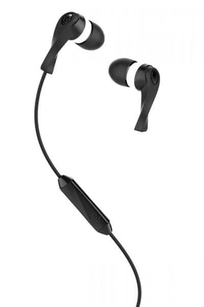 Skullcandy Wink'd 2.0 s mikrofonem, černá/bílá