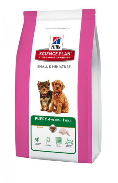 Hill's Canine Puppy Small & Miniature 1,5 kg