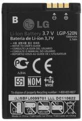 LG baterie, LGIP-520N, 1000mAh, Li-Ion, BULK