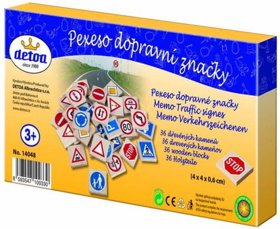 DETOA Pexeso dopravné značky