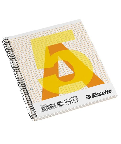 Blok kroužkový A5, 70l./70g čtverečkovaný