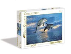 Clementoni Puzzle 500 Delfinek