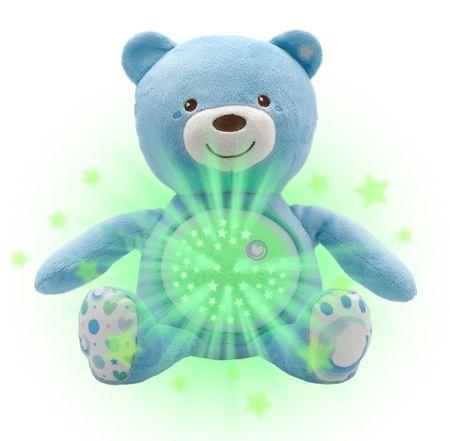 Chicco Medvídek s projektorem, modrá - použité