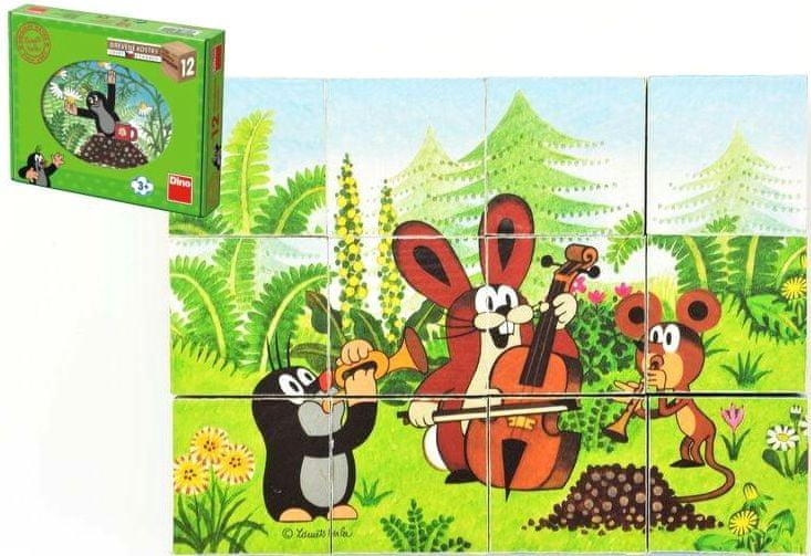 Dino Kostky kubus Krtek a přátelé
