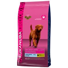 Eukanuba sucha karma dla psa Adult Weight Control Large Breed - 15kg
