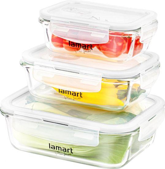 Lamart AIR (LT6011) Ételtároló doboz szett