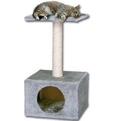 Magic Cat Odpočívadlo Hedvika 31x31x57 cm sivá