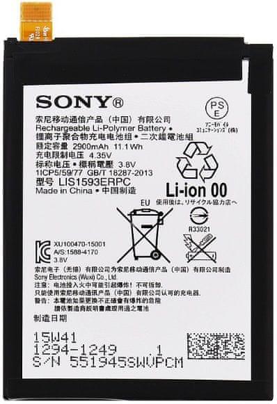 Sony baterie, 1294-1249, 2900mAh, Li-Pol, BULK