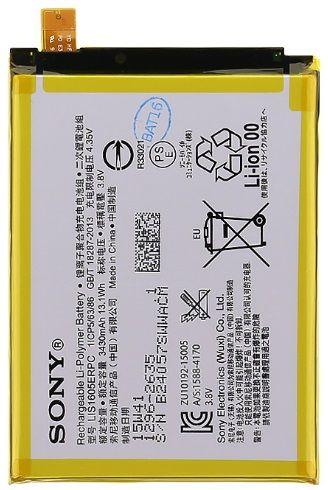 Sony baterie, 1296-2635, 3430mAh, Li-Pol, BULK
