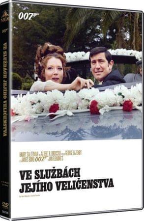 James Bond: Ve službách Jejího veličenstva   - DVD