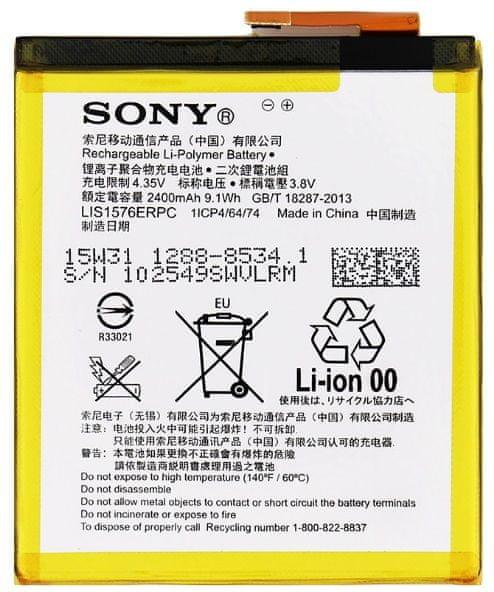 Sony baterie, 1288-8534, 2400mAh, Li-Pol, SWAP, BULK