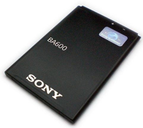 Sony baterie, BA-600, 1290mAh, Li-Ion, BULK