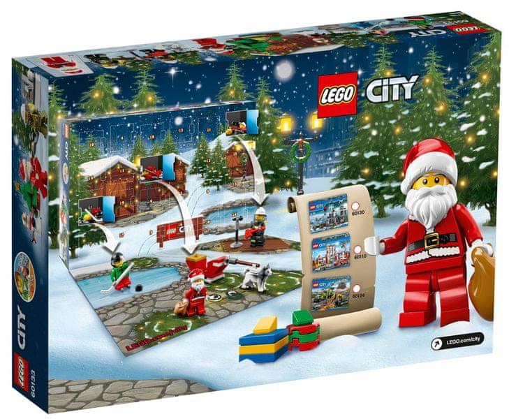 LEGO® City 60133 Adventní kalendář
