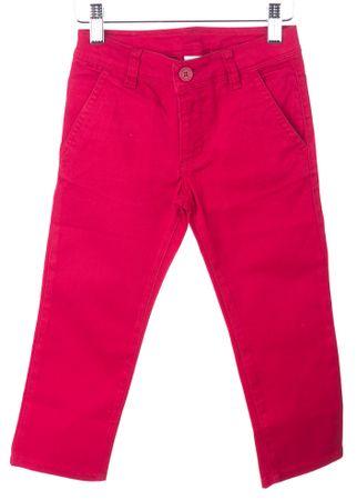 Primigi fantovske hlače 98 bordo rdeča