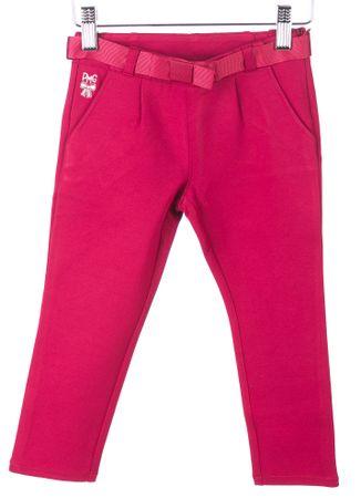 Primigi dekliške hlače 110 bordo rdeča