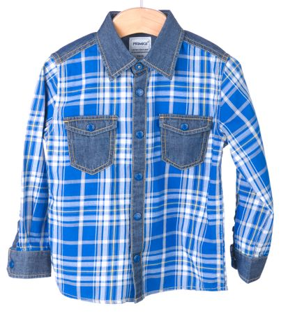 Primigi chlapecká košile 104 modrá