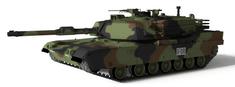 Waltersons R/C czołg US MBT M1A1 Abrams NATO 1/72